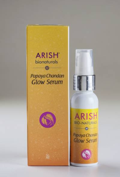 Papaya Chandan Glow Serum image